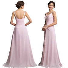 NEW Sexy Long Chiffon Dress Evening Formal Party Cocktail Bridesmaid Prom Gown
