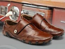 Fashion Mens Driving Moccasins slip on loafer leather Casual dress formal Shoes