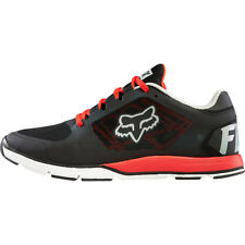 Fox Racing Motion Evo Shoes Black Red Honda Sneakers Trainers Fox Head Running