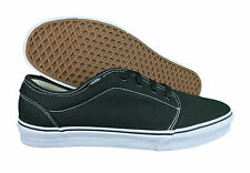 VANS. 106 Vulcanized. Black / White. Mens Casual Shoe. Mens US Size: 13. Defect