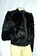 Bebe jacket coat shrug Minka Faux Fur Jacket 202256 black