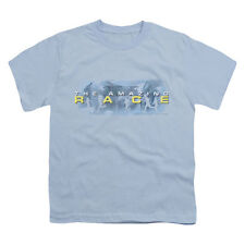 Amazing Race Men's  In The Clouds T-shirt Blue Rockabilia
