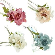 Bridal Wrist Flower Bridesmaid Wrist Corsage Ribbon Bracelet Wedding Supplies