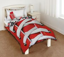 SkyCovers Sneaker Red Laces Single Duvet Cover Set