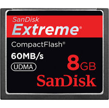 SanDisk Extreme 8 GB 400x - CompactFlash I Card - Retail - (SDCFX-008G-A61)