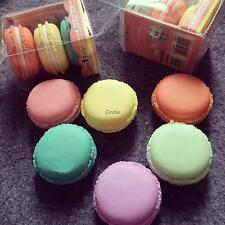 4Pcs/Lot Cute Mini Macarons Box For Jewelry Earring Ring Outing Storage Boxes