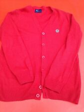 Fred Perry Red cardigan Medium Used