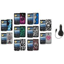 Color Hard Design Snap-On Case Cover Accessory+RET Charger for Pantech Discover