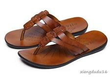 Fashion men's summer casual loafers sandals beach flip flops moccasin shoes new#