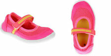 Toddler & Little Girl Pink Closed Toe Water Shoes Adjustable Swim Beach S XL NEW