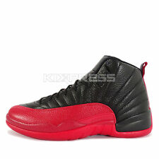 Nike Air Jordan 12 Retro [130690-002] Basketball Flu Game Bred Black/Red