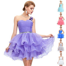 Short Cocktail Prom Dresses Homecoming Evening Bridesmaid Party Gown Graduation