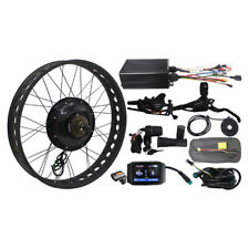 36V/48v 500W Front Wheel Ebike Conversion Kit with Sine Wave Controller