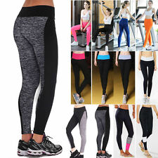 Women High Waist Leggings Running Yoga Sports Fitness Gym Stretch Pants Trousers