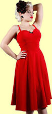 Stop Staring! - Adorable Red Swing Dress.  New With Several Sizes.