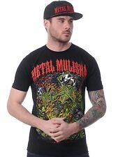 Metal Mulisha Black-Red Mayhem Hand Drawn T-Shirt