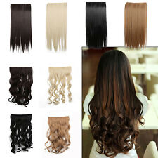 Ladies Long Straight Curly Wavy Brown Gold Black Wine Fashion Cosplay Hair Piece