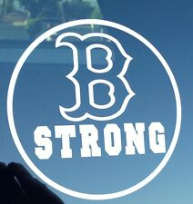 BOSTON MARATHON B STRONG VINYL DECAL STICKER B STRONG REMEMBERANCE BOSTON