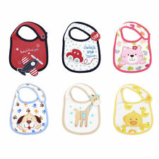 Cartoon Toddler Lunch Bibs Burp Cloths Baby Girl Boy Feeding Saliva Towel KG