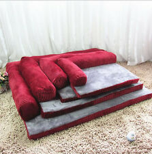 New Comfortable Pet Dog Cat Sofa Bed House Cushion Mat Kennel  Bed