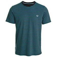 Fred Perry Double Stripe T-Shirt Navy