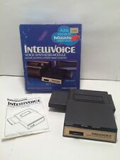 Intellivision 1981 INTELLIVOICE Voice Synthesis Module with Box And Manual MINT