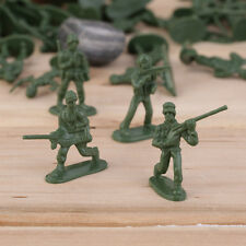100pcs Military Plastic Toy Soldiers Army Men Figures 12 Poses Gift KG