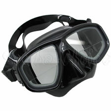 Scuba Black Dive Mask FARSIGHTED Prescription RX 1/3 Optical Lenses