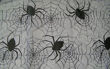 Halloween Spooky Spiders Web Table Cloth 170 x 190cm Craft Lace Material New
