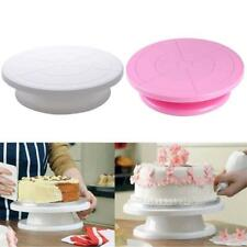 Round Cake Decorating Icing Rotating Turntable Cake Stand Wedding Mold 2Colors L