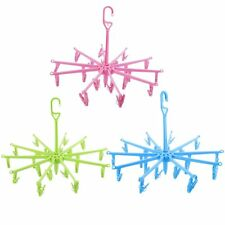 New Hanging Dryer 20 Clips Pin Laundry Clothes Hanger Octopus Foldable KG