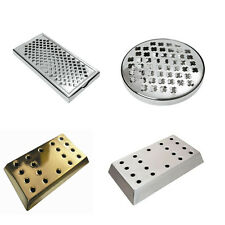 Drip Tray Beer Drip Tray Stainless Steel or Brass Effect bar pub club