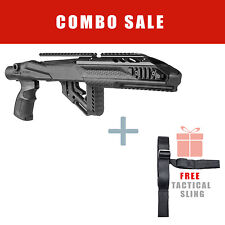 Fab Defense Stock for Ruger 10/22 w/ Aluminum Rail & Free Sling UAS R10/22 PRO S