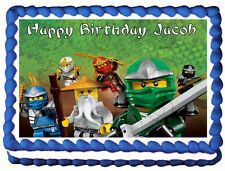 NINJAGO Image Edible Cake topper design