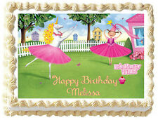 PINKALICIOUS Image Edible Cake topper party decoration