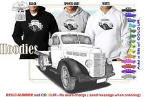 50-53 BEDFORD LIGHT TRUCK ILLUSTRATED CLASSIC RETRO MUSCLE SPORTS CAR