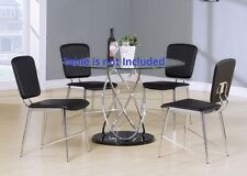 New Dining room Kitchen Dining Chairs Long seat short back Modern furniture
