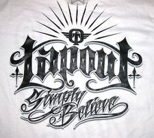"""Tapout CAN'T STOP """"SIMPLY BELIEVE""""  Back- """"DRIVEN TO WIN"""" T-Shirt MMA FIGHT CLUB"""