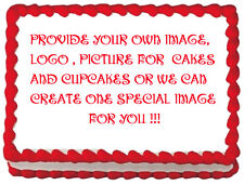 ANY IMAGE Custom your own image Edible image Cake topper Frosting sheet