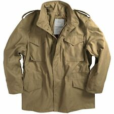 M65 US MILITARY FIELD JACKET ARMY COMBAT KHAKI BEIGE LINER MENS VINTAGE COAT TOP
