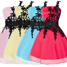 GK Applique Short Prom Evening Party Cocktail Dress Homecoming Wedding Prom Gown