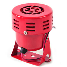 Fit for Car Truck Motorcycle 12V Red Motor Driven Air Raid Siren Horn Alarm 50's