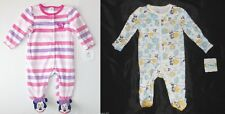 Disney Baby Minnie Mouse Infant Girls Sleepers 2 Choices Size 3-6 Months NWT