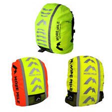 More Mile High Viz Waterproof Backpack Rucksack Bag Rain Cover Cycling Running