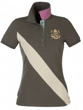New JOULES Mary King Polo Shirt  / Ladies/Women's T-Shirt - Olive Green Size 8