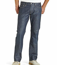 514 LEVIS SLIM FIT STRAIGHT LEG BLUE DENIM SITS BELOW WAIST COATED JEANS MEN