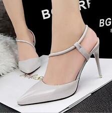 Sexy Women's High Heels Pointed Party Strappy Pumps Stilettos Shoes Sandals L303