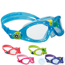AQUA SPHERE SEAL KID 2 JUNIOR KIDS CHILDRENS CHILDS SWIMMING GOGGLES NEW VERSION