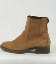 LADIES NEXT BROWN LEATHER ANKLE BOOTS SIZE 5UK
