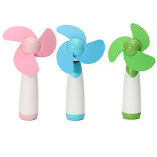 Portable Handheld Mini Cooling Cool Fan Super Mute Battery Operated TS